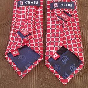 Chaps Accessories - CHAPS NECK TIE TWIN BUNDLE